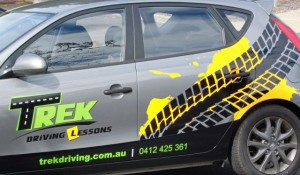 trek driving lessons car